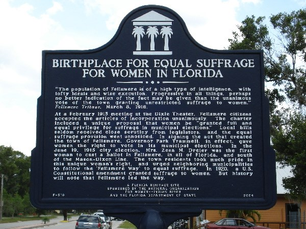 birthplace women's suffrage